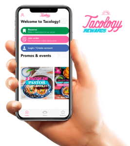 This is Tacology Rewards app